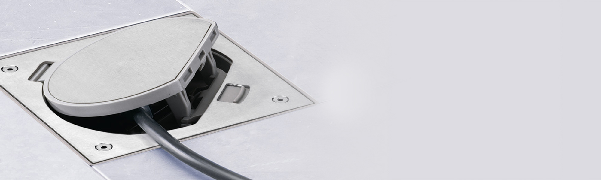Floor Watertight Box Simon Waterproof Socket